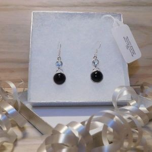Jewelry - 👻BLACK ONYX EARRINGS